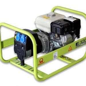 Elektrocentrála E / MES série - jednofázová/benzín