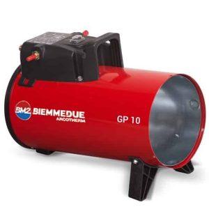 Plynový ohrievač vzduchu GP10M