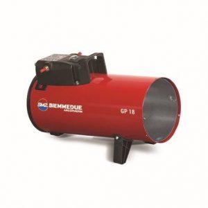 Plynový ohrievač vzduchu GP18M
