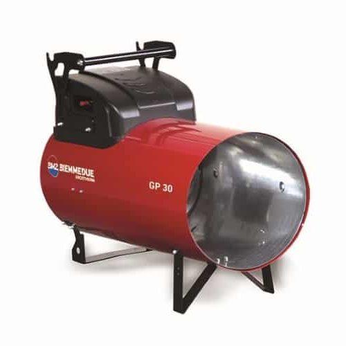 Plynový ohrievač vzduchu GP30M