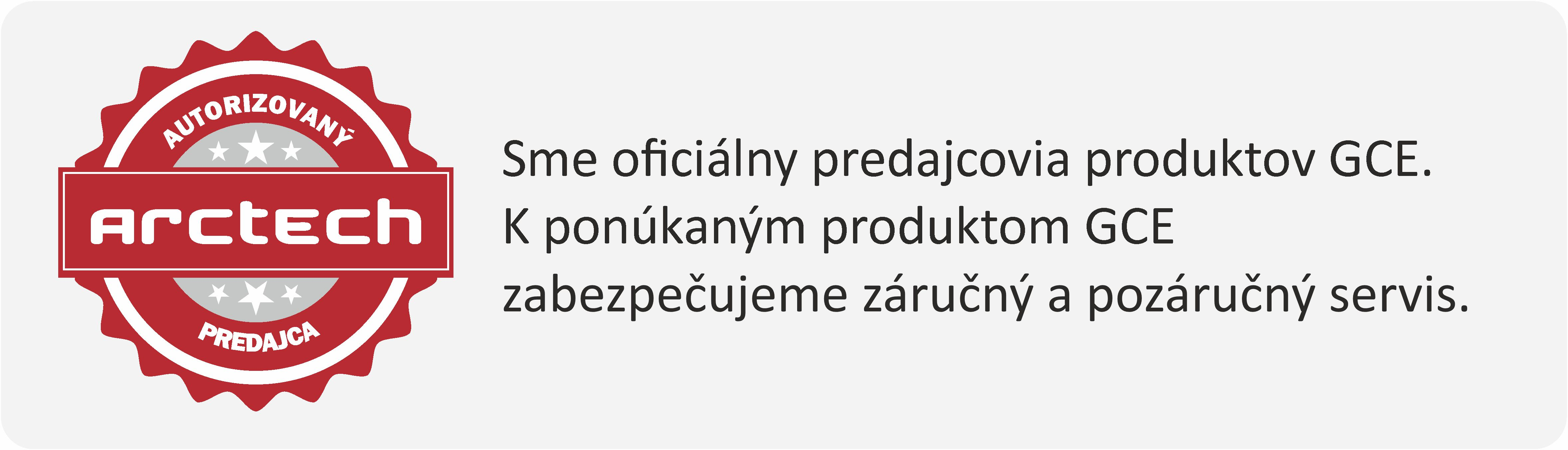 autorizovaný predajca gce