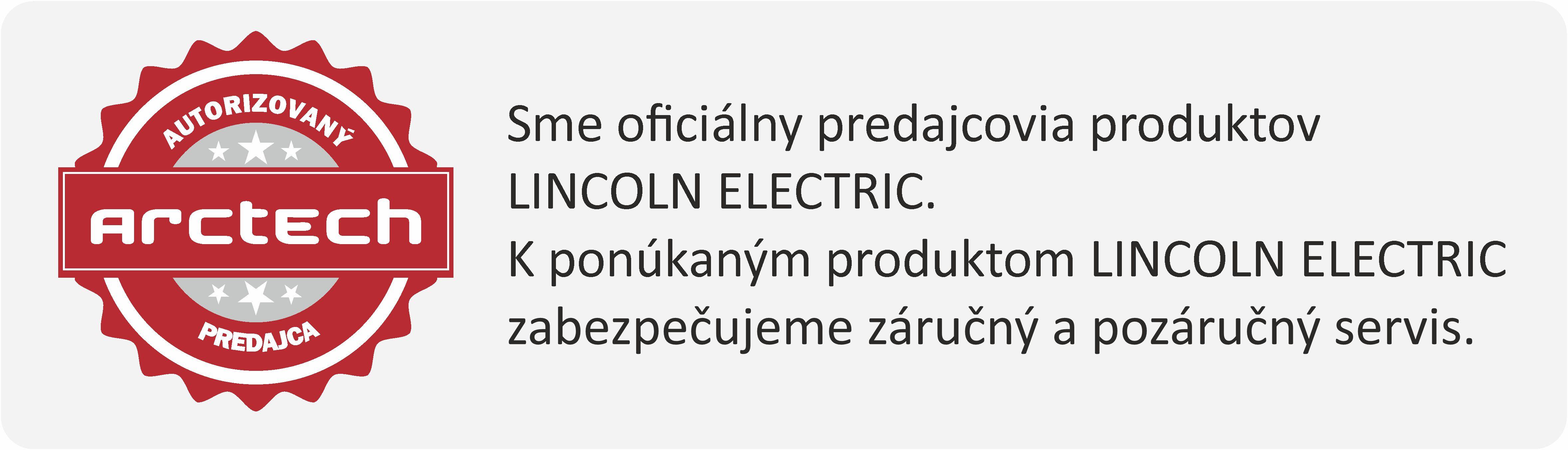 Lincoln Electric autorizovaný predajca