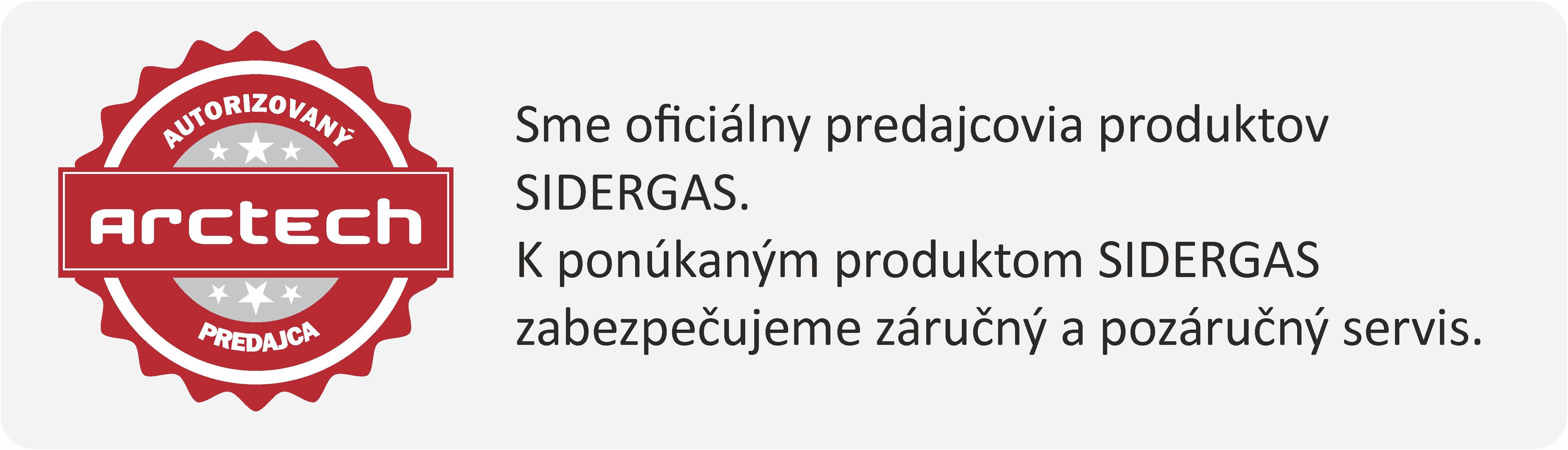 sidergas autorizovaný predajca