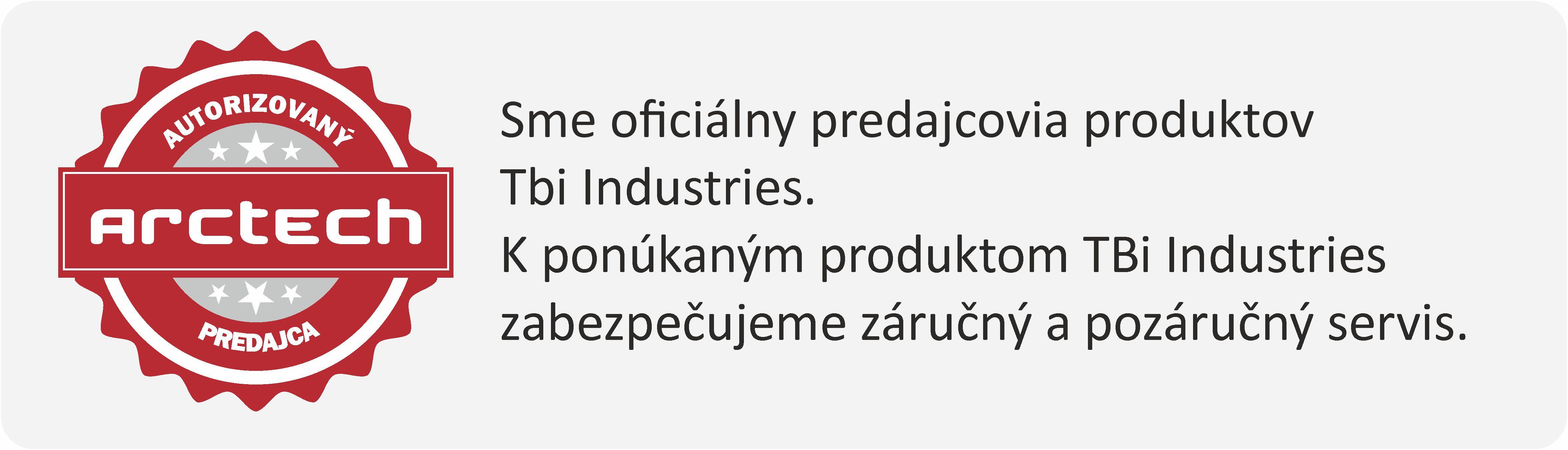 autorizovaný predajca TBi Industries