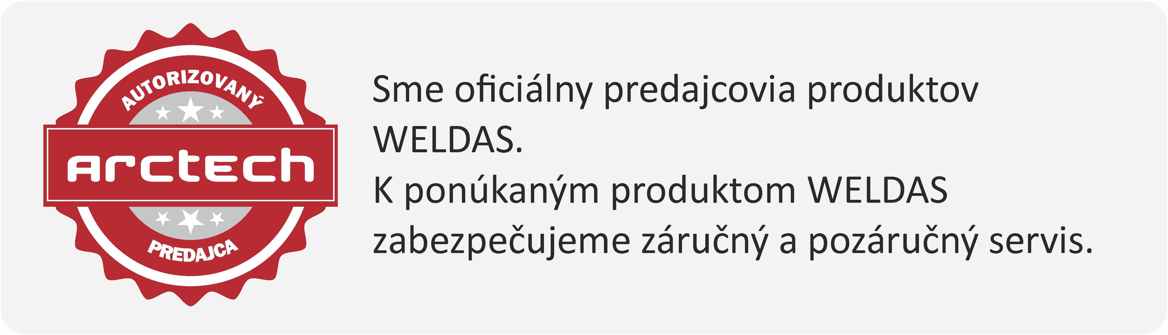 autorizovaný predajca weldas