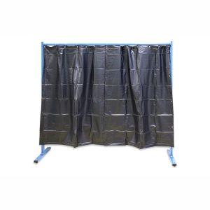 1-dielna ochranná stena s fóliovými zástenami