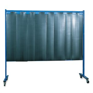 KEMPER 1-dielna ochranná stena s lamelami