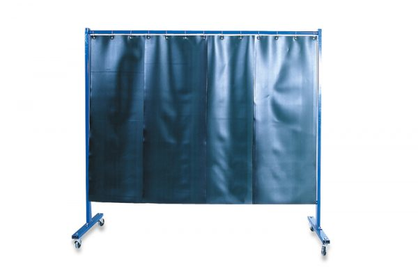 KEMPER 1-dielna ochranná stena s lamelovými zástenami