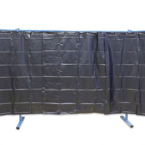 3-dielna ochranná stena s fóliovými zástenami