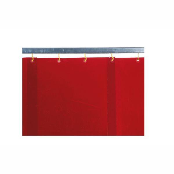 KEMPER lamelová zástena červená